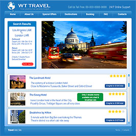 Travel website using urgency messaging to stimulate purchase