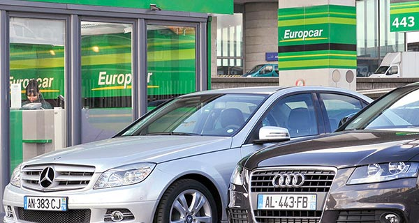 Europcar cars for rental