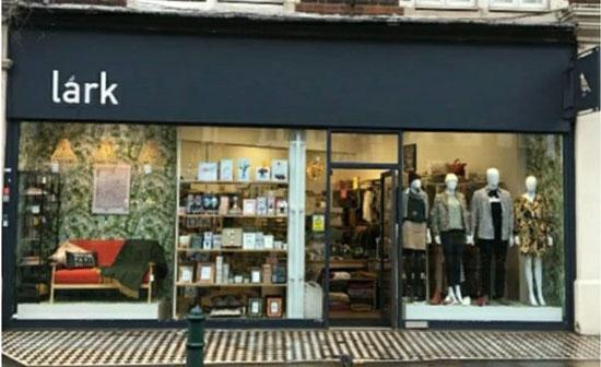 Lark London Balham shop